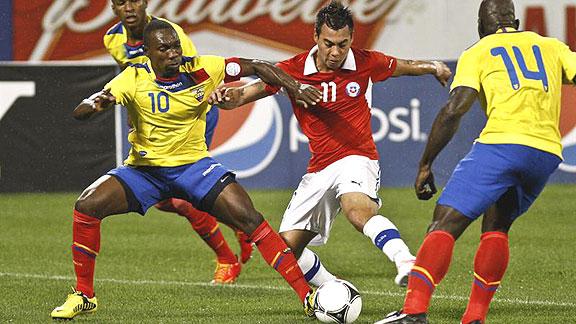 ECUADOR 3 - CHILE 0