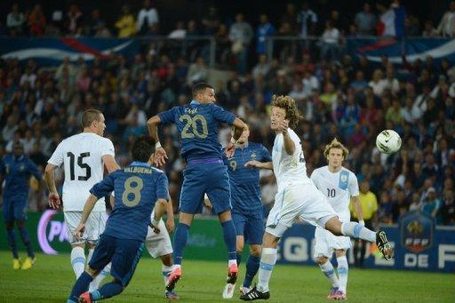 FRANCIA 0 - URUGUAY 0