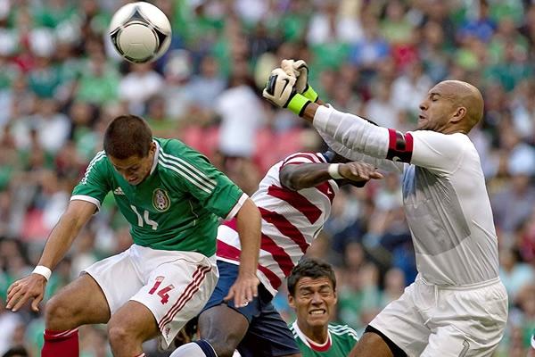 MEXICO 0 - ESTADOS UNIDOS 1