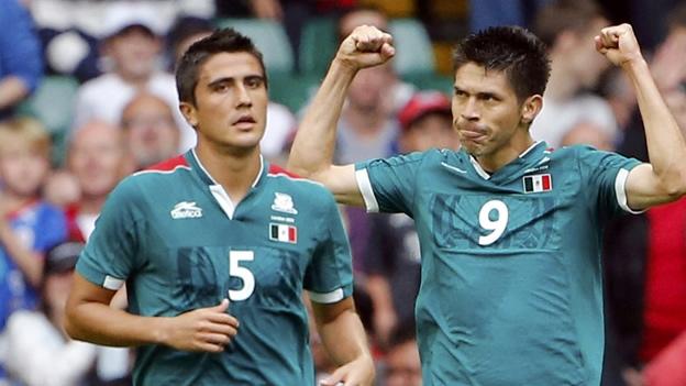 MEXICO 1 - SUIZA 0