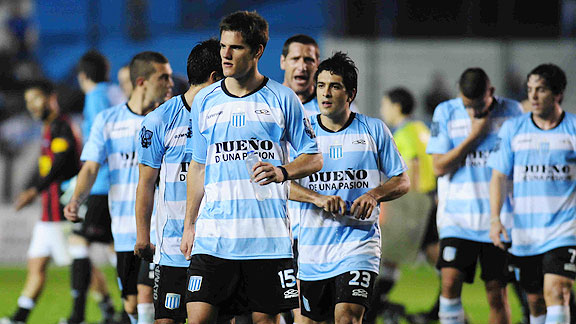 RACING 1 - COLON 2