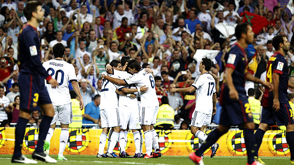 REAL MADRID 2 - BARCELONA 1
