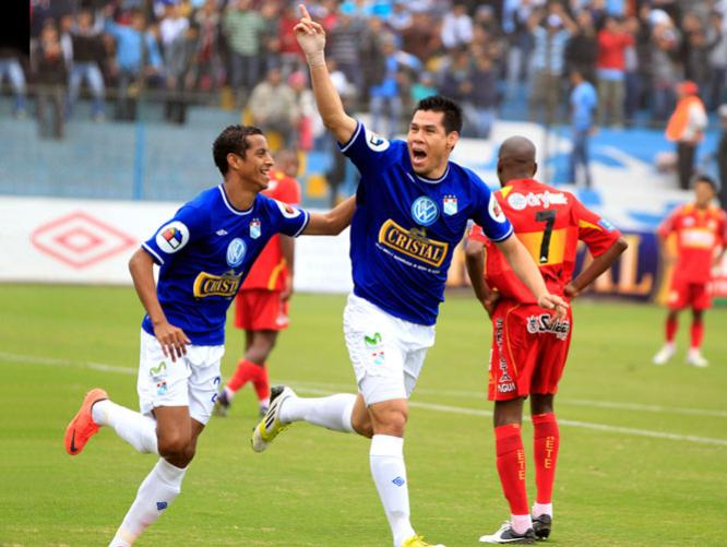 SPORTING CRISTAL 1 SPORT HUANCAYO 0
