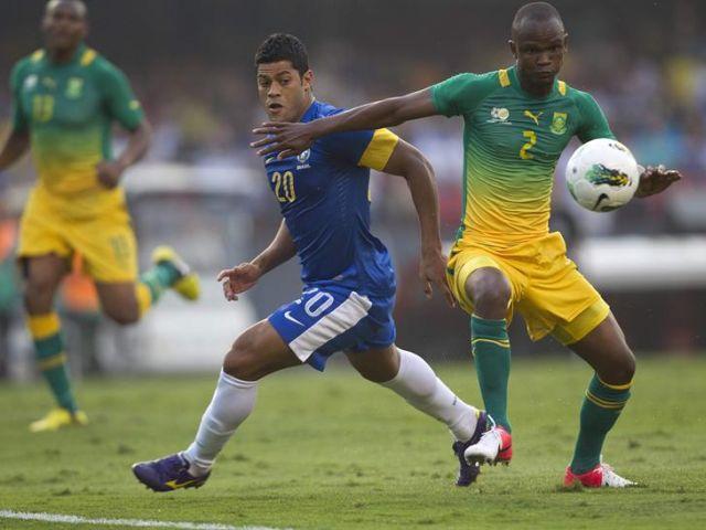 BRASIL 1 - SUDAFRICA 0