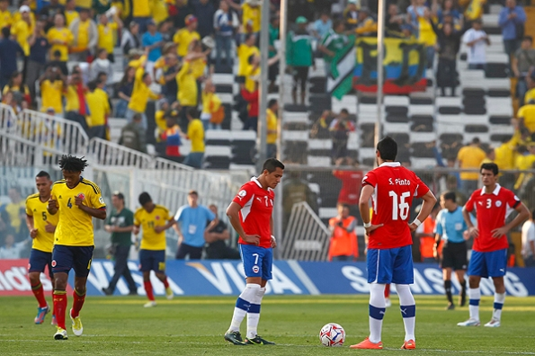 CHILE 1 - COLOMBIA 3