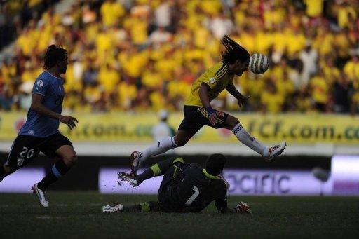 COLOMBIA 4 - URUGUAY 0