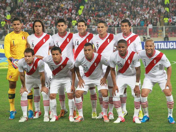 SELECCION PERUANA 2012