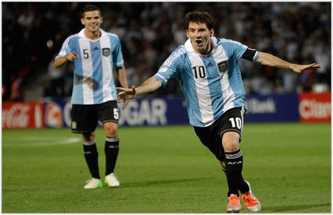 ARGENTINA 3 - URUGUAY 0