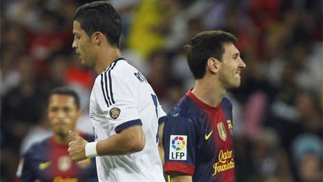 BARCELONA 2 - REAL MADRID 2