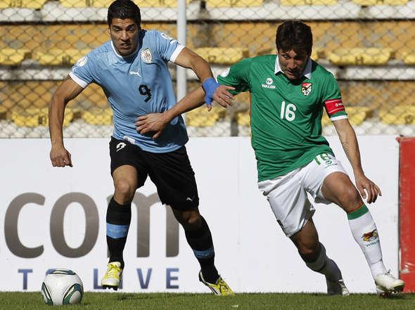 BOLIVIA 4 - URUGUAY 1