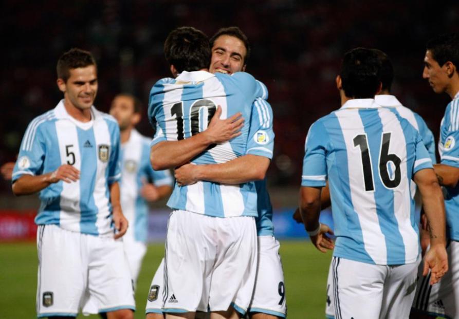 CHILE 1 - ARGENTINA 2