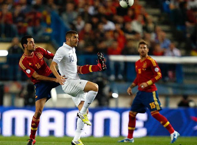 ESPAÑA 1 - FRANCIA 1
