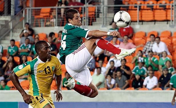 GUYANA 0 - MEXICO 5