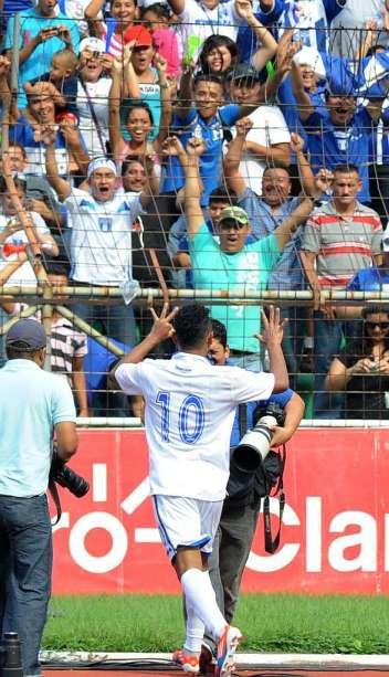 HONDURAS 8 - CANADA 1