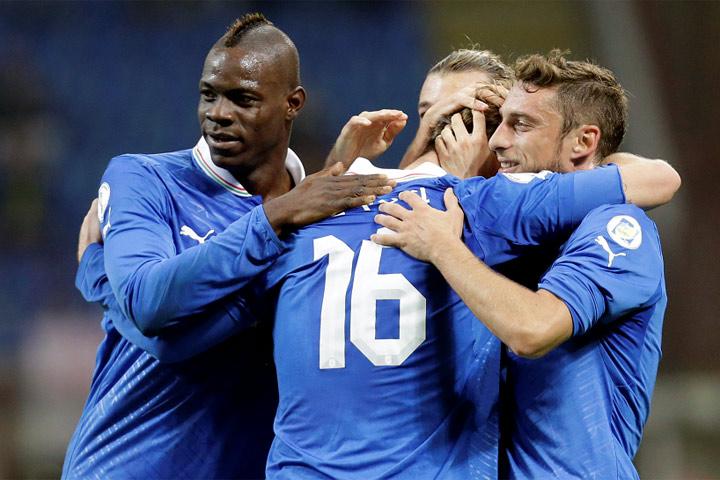 ITALIA 3 - DINAMARCA 1
