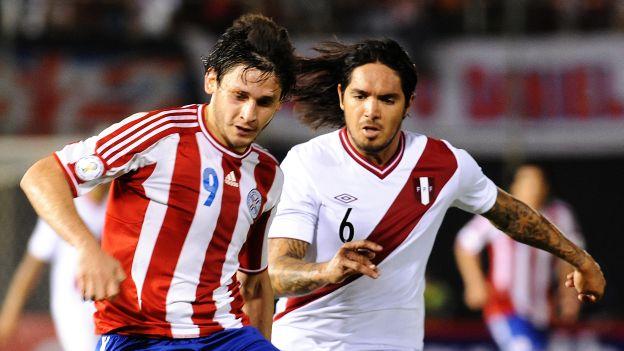 PARAGUAY 1 - PERU 0