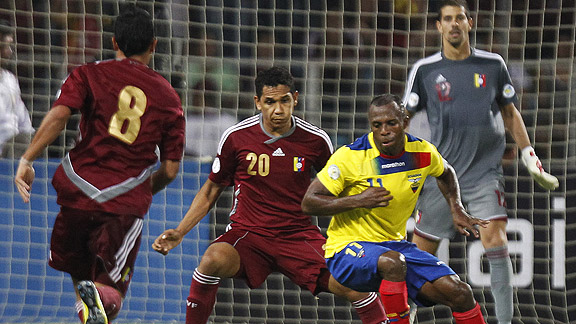VENEZUELA 1 - ECUADOR 1