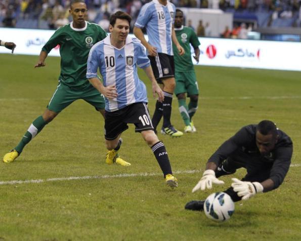 ARABIA 0 - ARGENTINA 0