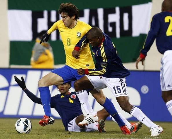 BRASIL 1 - COLOMBIA 1