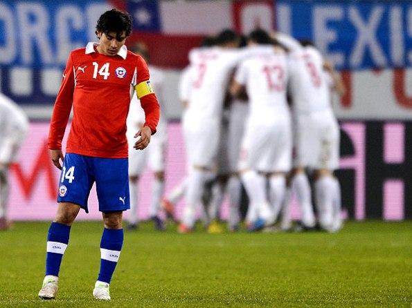 CHILE 1 - SERBIA 3