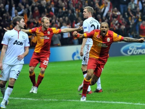 GALATASARAY 1 - MANCHESTER UNITED 0