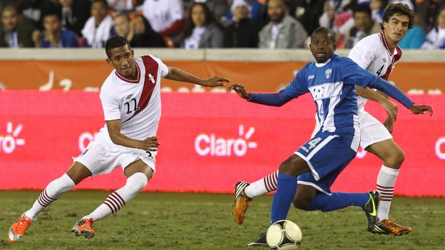 HONDURAS 0 - PERU 0