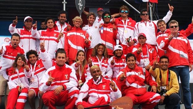 PERU CAMPEON JUEGOS BOLIVARIANOS DE PLAYA 2012