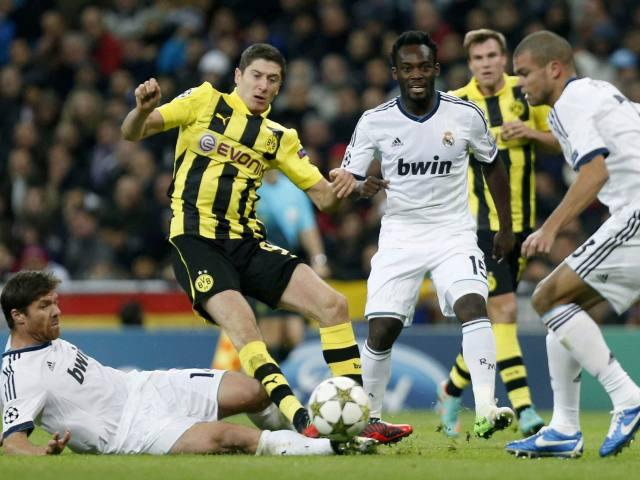 REAL MADRID 2 - BORUSSIA DORTMUND 2