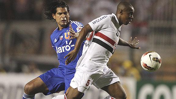 SAO PAULO 5 - U DE CHILE 0