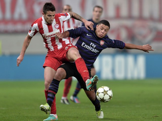 OLYMPIAKOS 2 - ARSENAL 1