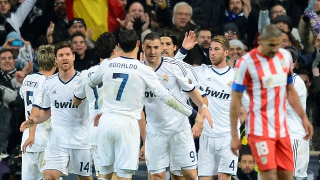 REAL MADRID 2 - ATLETICO DE MADRID 0