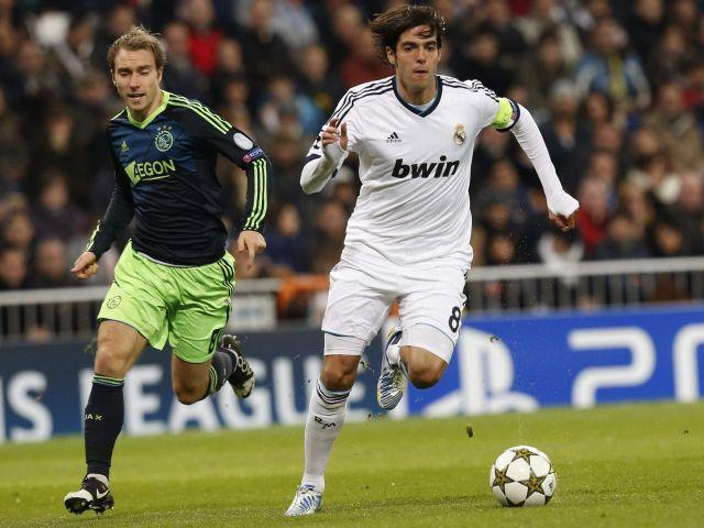 Image result for real madrid vs ajax 2012