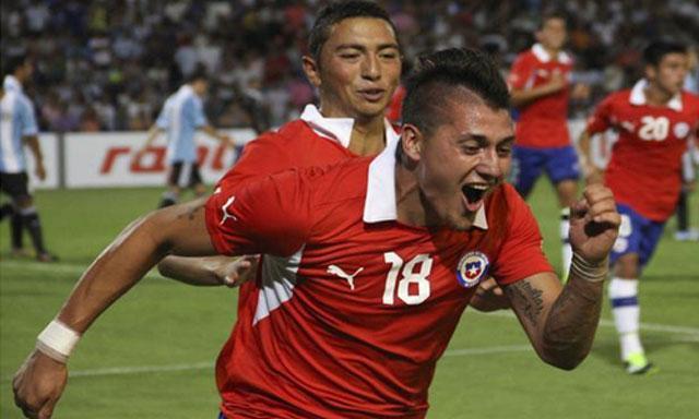 ARGENTINA 0 - CHILE 1 SUB20 2013
