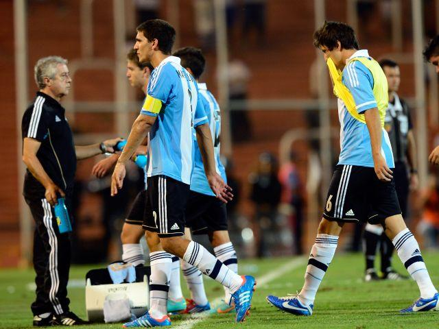 ARGENTINA 1 - PARAGUAY 2