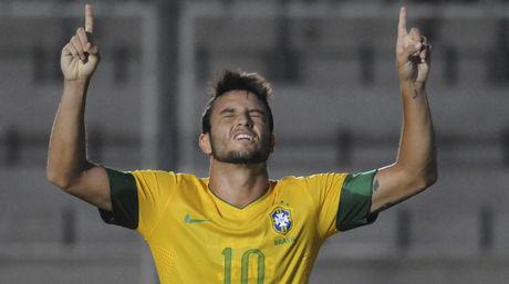 BRASIL 1 - VENEZUELA 0 SUDAMERICANO SUB20 ARGENTINA 2013