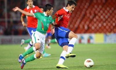 CHILE 2 - BOLIVIA 0