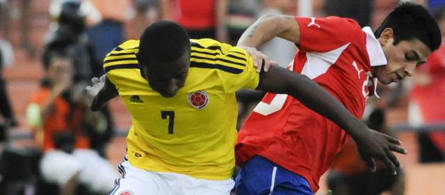 COLOMBIA 0 - CHILE 1