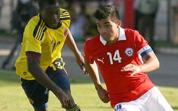 COLOMBIA 1 - CHILE 2 SUDAMERICANO SUB20 ARGENTINA 2013