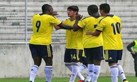 COLOMBIA 1 - PARAGUAY 0 SUDAMERICANO SUB20 ARGENTINA 2013