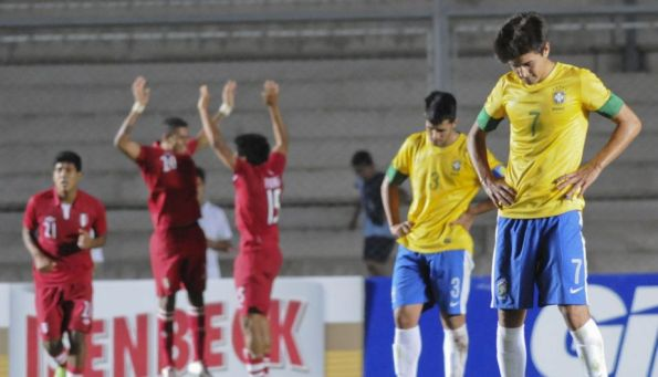 PERU 2 - BRASIL 0