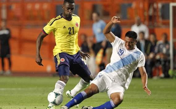 colombia 4 - guatemala 1