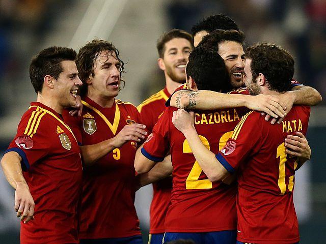 ESPAÑA 3 - URUGUAY 1