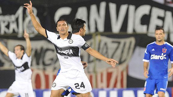 OLIMPIA 3 - U DE CHILE 0