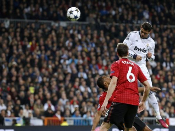 REAL MADRID 1 - MANCHESTER UNITED 1
