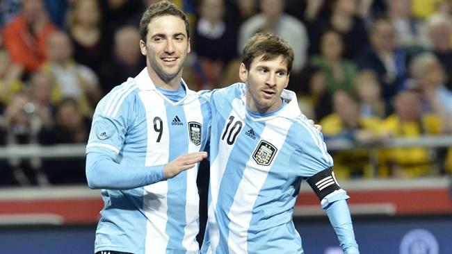SUECIA 2 - ARGENTINA 3