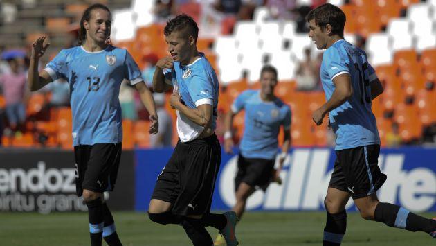 URUGUAY 1 - ECUADOR 0