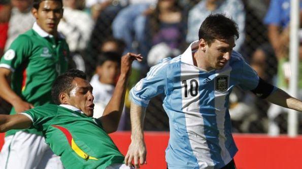 BOLIVIA 1 - ARGENTINA 1