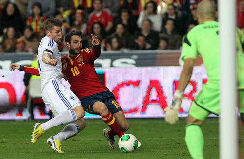 ESPAÑA 1 - FINLANDIA 1