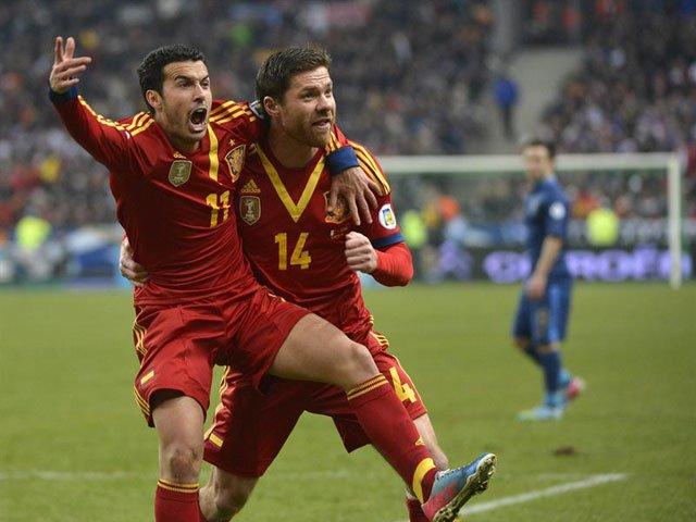 FRANCIA 0 - ESPAÑA 1