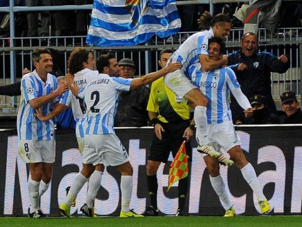 MALAGA 2 - FC PORTO 0